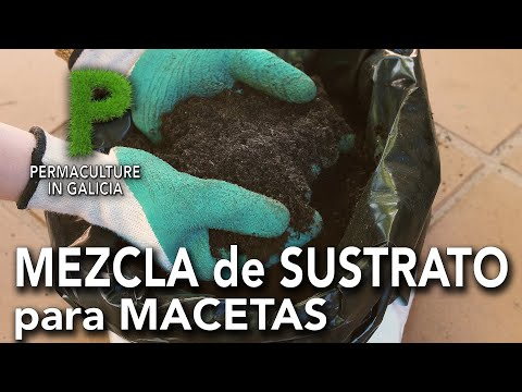 Mezcla de sustrato para macetas y semilleros | Permacultura en Galicia